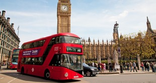 Big Ben and London bus