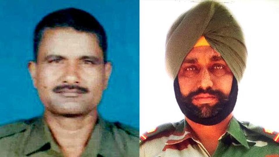 Indian soldiers mutilated