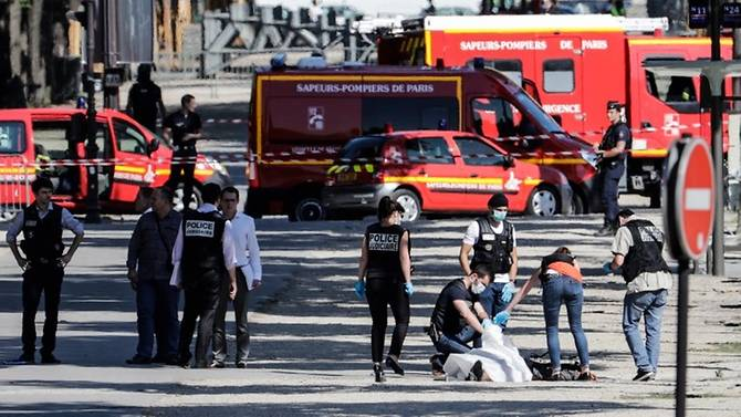 Champs-Elysees attack