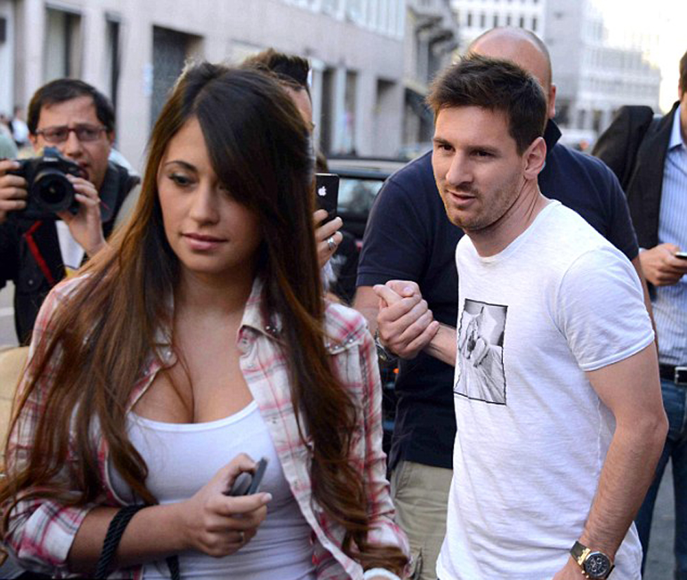 Messi´s wife