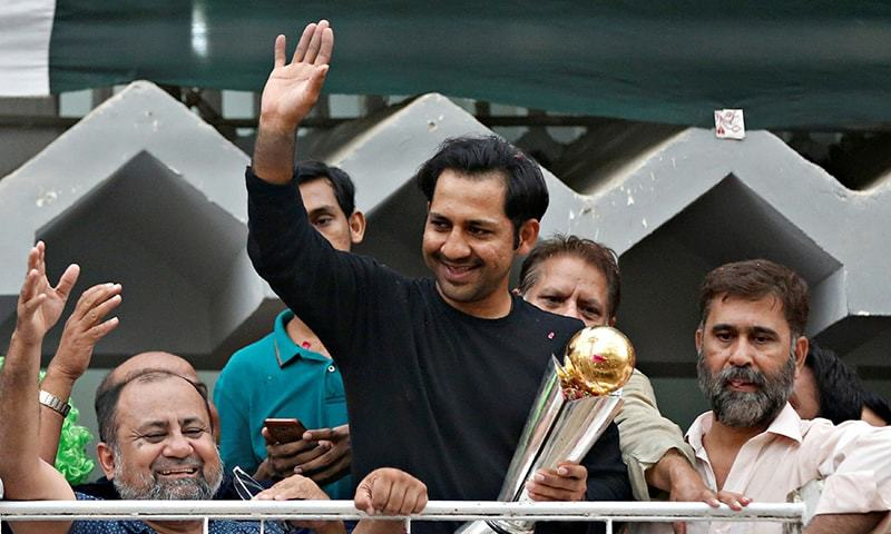 sarfraz ahmed champion