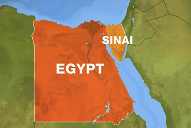 Egypt kills nine militants in Sinai