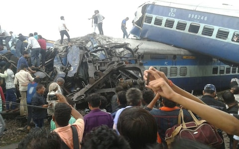 INDIA-TRAINCRASH