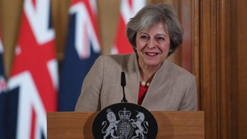 Theresa May launches new rules on executive pay