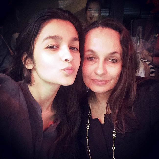 Alia and mother