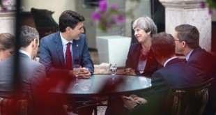 Justin-Trudeau-Theresa-May