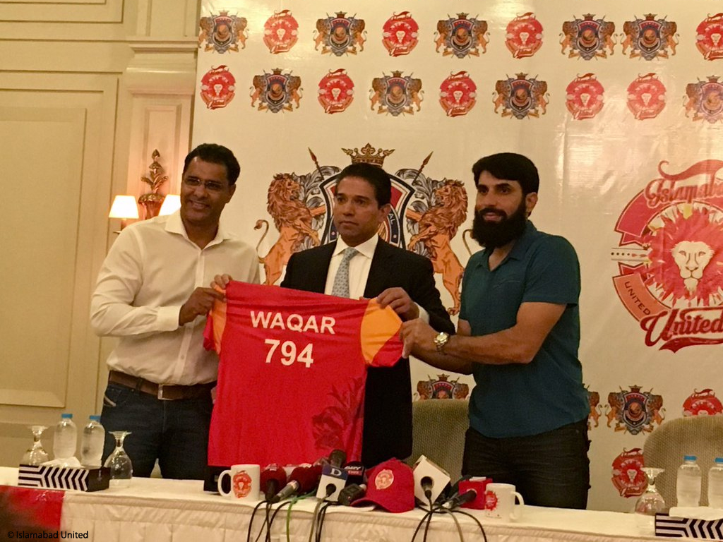 Waqar Younis joins Islamabad United