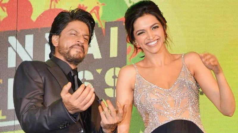 Deepika and Shah Rukh