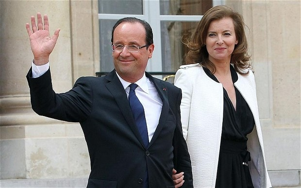Former French president Francois Hollande