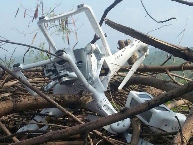 Indian drone shot down by Pakistan Army