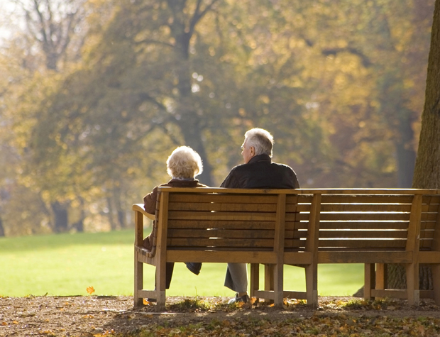 OLD COUPLE dating