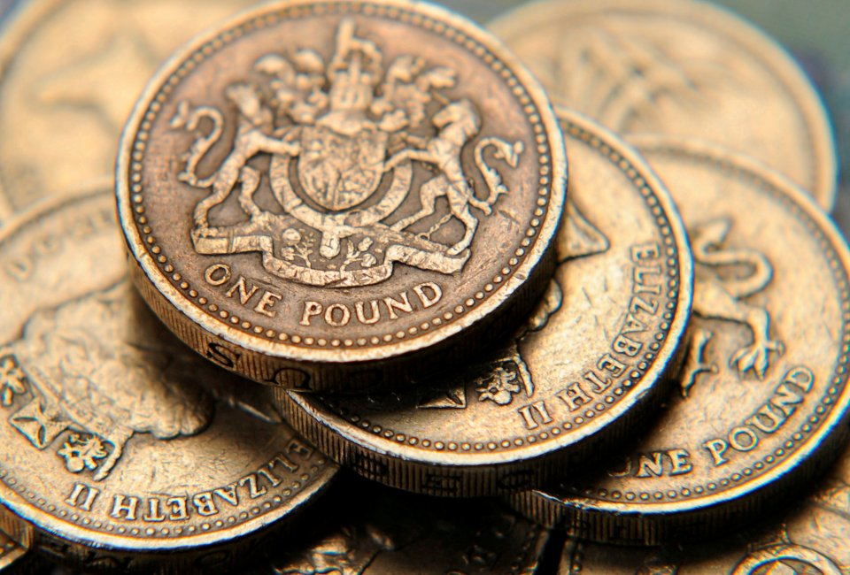 Old £1 coins pound