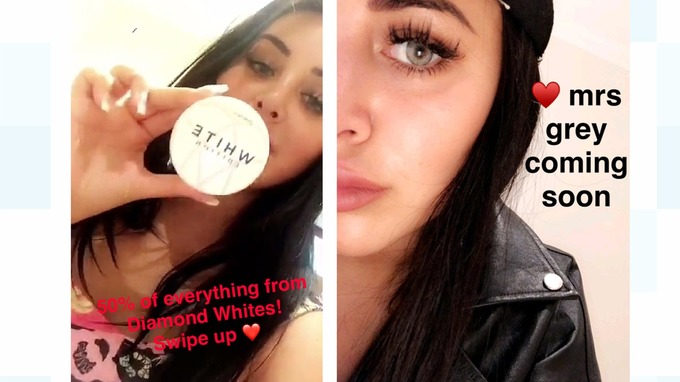 Snapchat ads Marnie Simpson