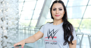 first female Arab wrestler
