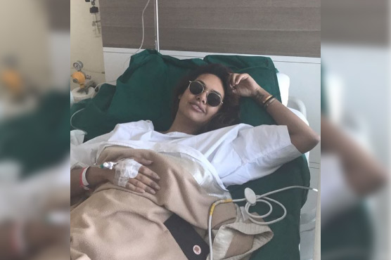 Esha Gupta - Hospitalised