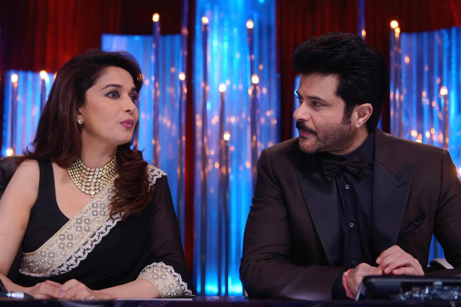 Madhuri and Anil Kapoor