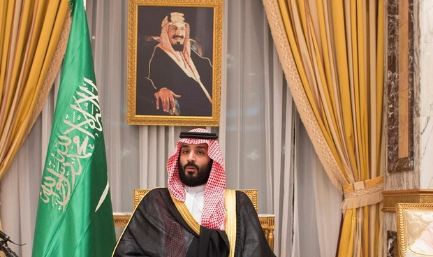 Saudi Arabia's Crown Prince Mohammed bin Salman sits during an allegiance pledging ceremony in Mecca, Saudi Arabia June 21, 2017. Bandar Algaloud/Courtesy of Saudi Royal Court/Handout via REUTERS. ATTENTION EDITORS - THIS PICTURE WAS PROVIDED BY A THIRD PARTY.     TPX IMAGES OF THE DAY
