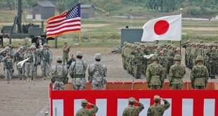 US troops Japan