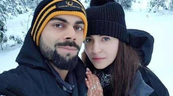 Anushka Sharma, Virat Kohli enjoy honeymoon