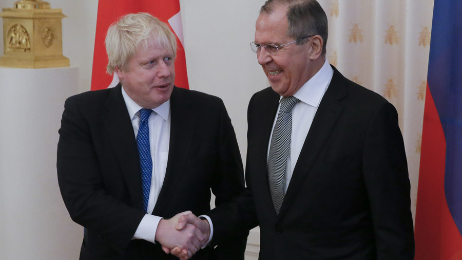 Boris Johnson-Moscow-RUSSIA-UK