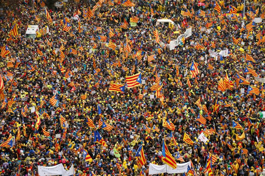 Catalans-march-Brussels