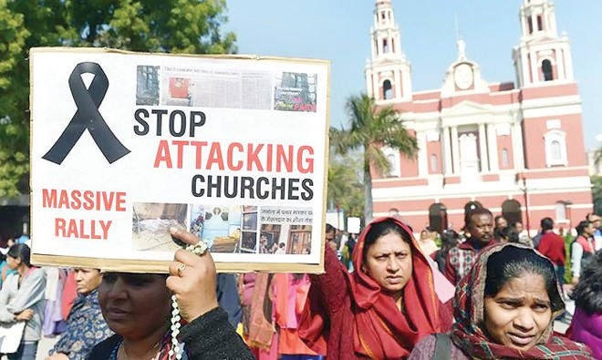 Indian Christians demand increased security ahead of Christmas celebrations