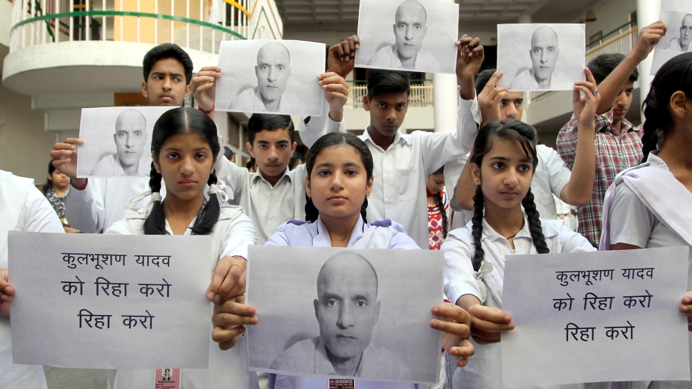 Indians have been calling for Pakistan to release Jadhav