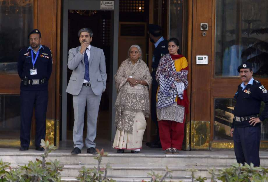Jadhav mother, wife depart after meeting convicted spy