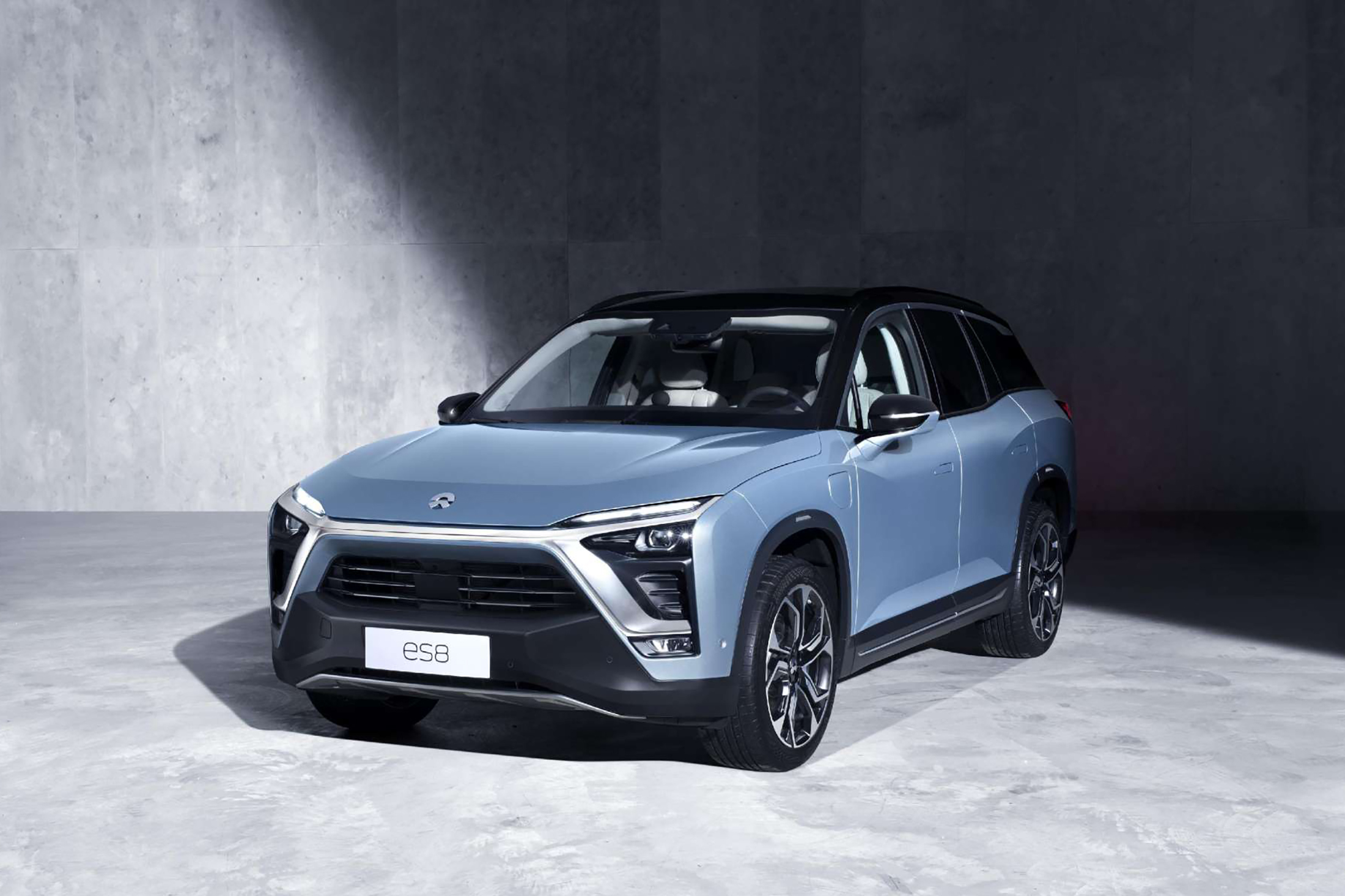 chinese electric car startup nio undercuts tesla with