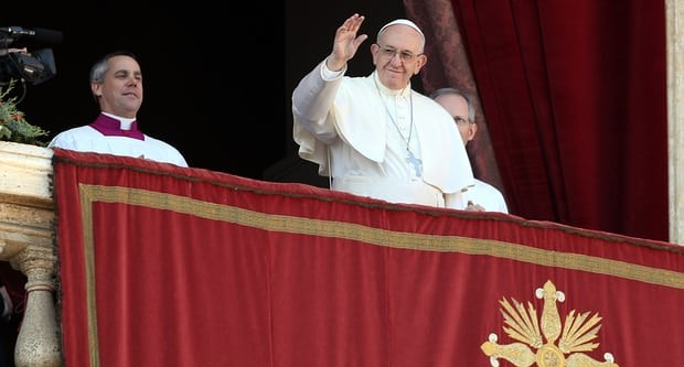 Pope calls for two-state solution in Israel and Palestine