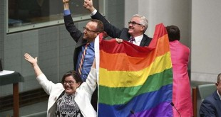 Same-sex marriage legalised in Australia