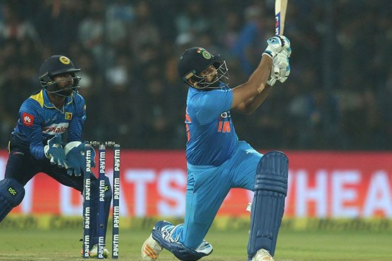 Sharma's 35-ball ton helps India win T20 series