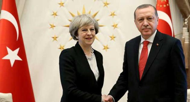 Theresa May - Tayyip Erdogan
