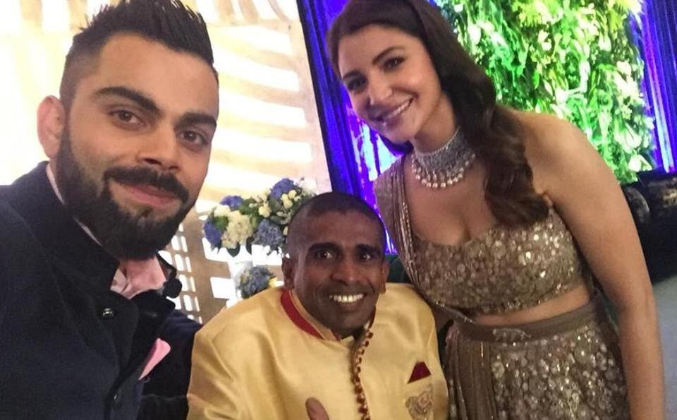 Lankan Fan Invited By Kholi To Attend Wedding Reception In Mumbai