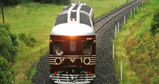 World's first fully solar-power train makes its first trip