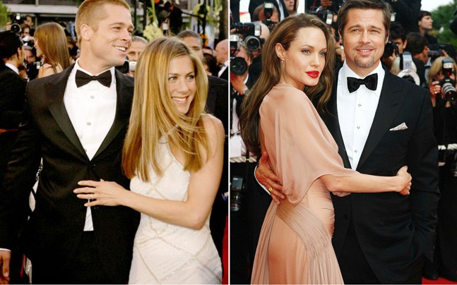 Leaving Jennifer for Angelina Jolie was one of my biggest ...