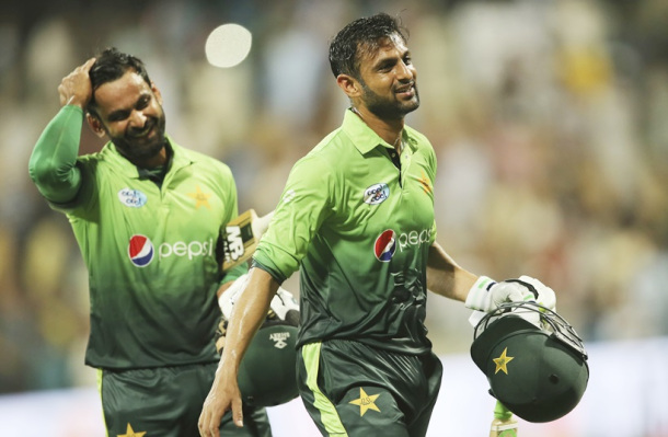 Hafeez and Shoaib Malik