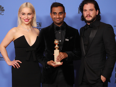 Aziz Ansari win Golden Globe Award
