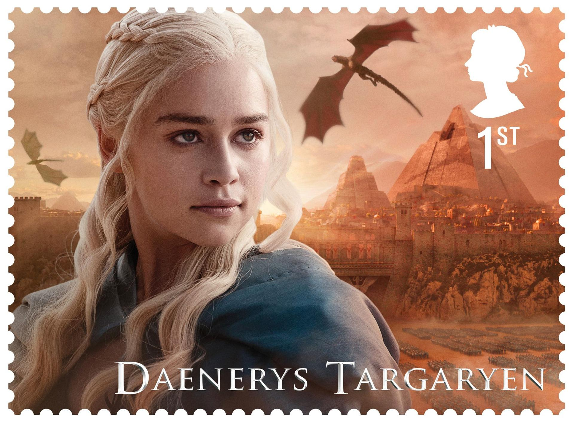 Britain celebrates Game of Thrones with new stamps
