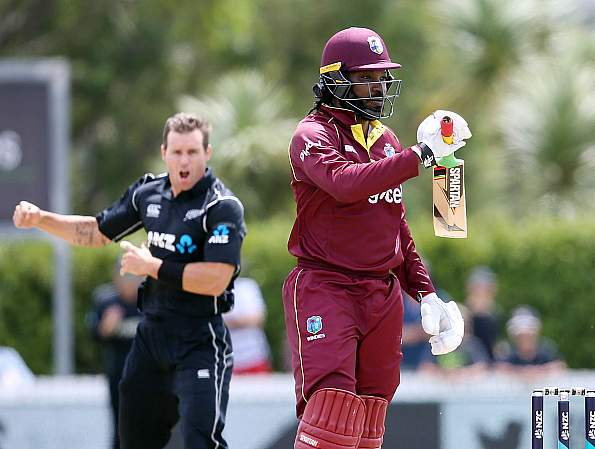 Chris Gayle new zealand