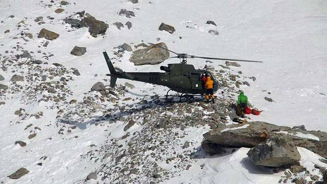 French climber saved on Pakistan's 'killer mountain'
