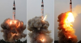 India test-fires intercontinental missile
