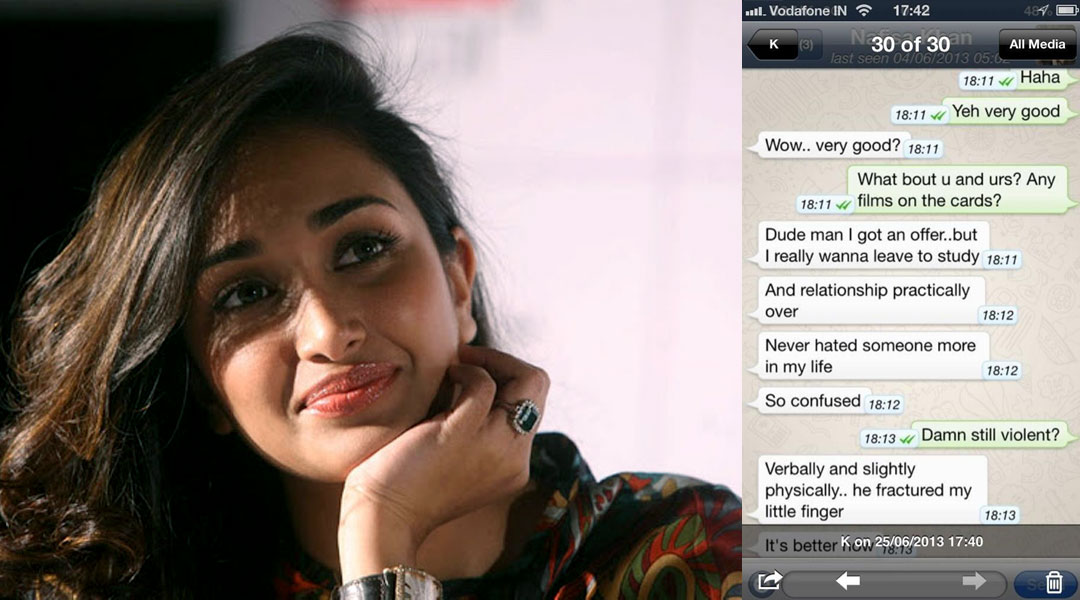 Jiah Khan TEXT