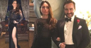 Kareena Kapoor adorns gown New Year celebration