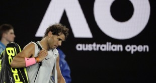 Nadal limps out, Edmund marches on in Australian Open