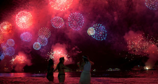 New Year's Eve celebrations in Rio de Janeiro, Brazil