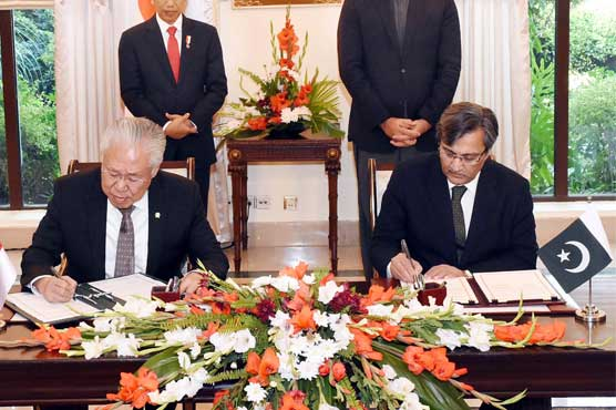 Pakistan, Indonesia sign several significant MoUs
