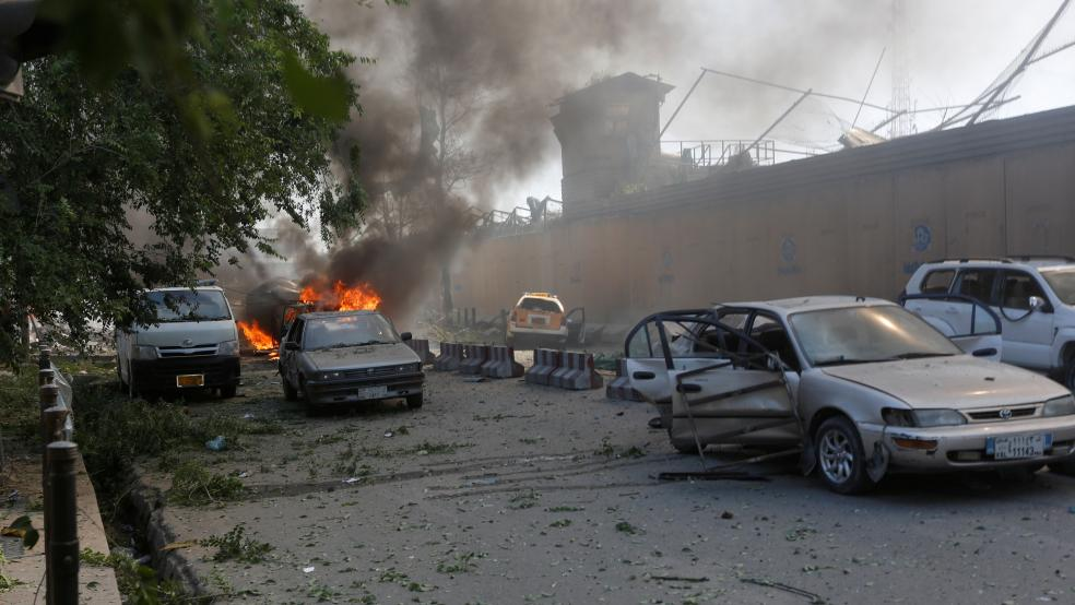 Save the Children aid group office in Afghanistan Gunmen storm
