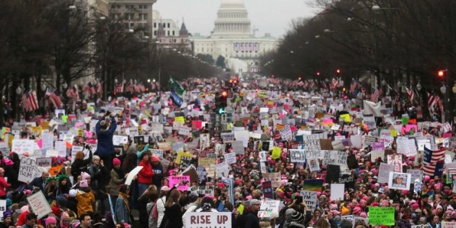 US cities gear up for anti-Trump Women's March
