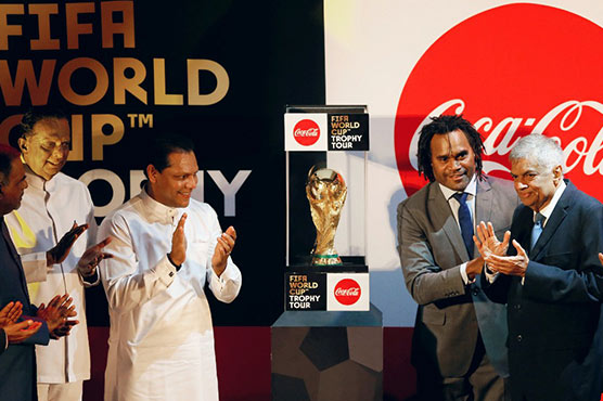 World Cup arrives in Sri Lanka to kick off global tour
